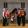 Rennaisance de Roul. National Champion Breeder Sweepstakes Colts, owner Cindy Hickman